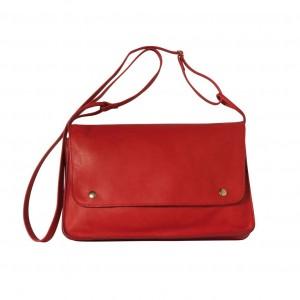 sac à main vintage rouge