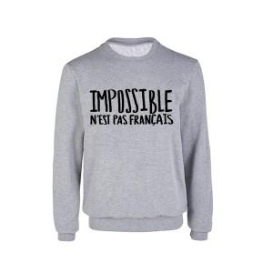 sweat-impossible-n'est-pas-français-wooop