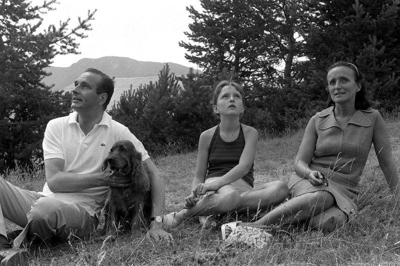 Bernadette,  Claude et Jacques - 1974 - © THEVENIN/SIPA
