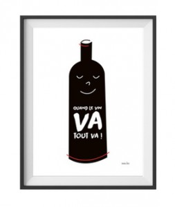 Quand le vin va