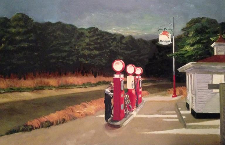 Hopper-Gas
