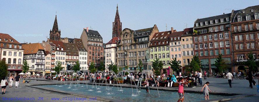 Les 10 plus belles places de france - Piscine a strasbourg ...