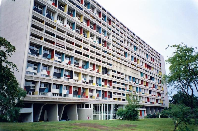 La Cité radieuse de Marseille, édifiée entre 1947 et 1952