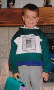 Fabien, quand il était un tout petit Frenchy !